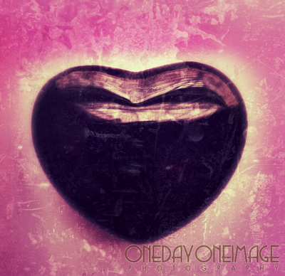 Black Onyx Heart